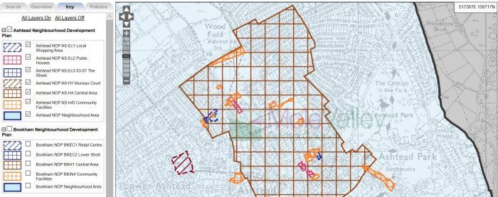 planvu for Ashtead Neighbourhood Plan image